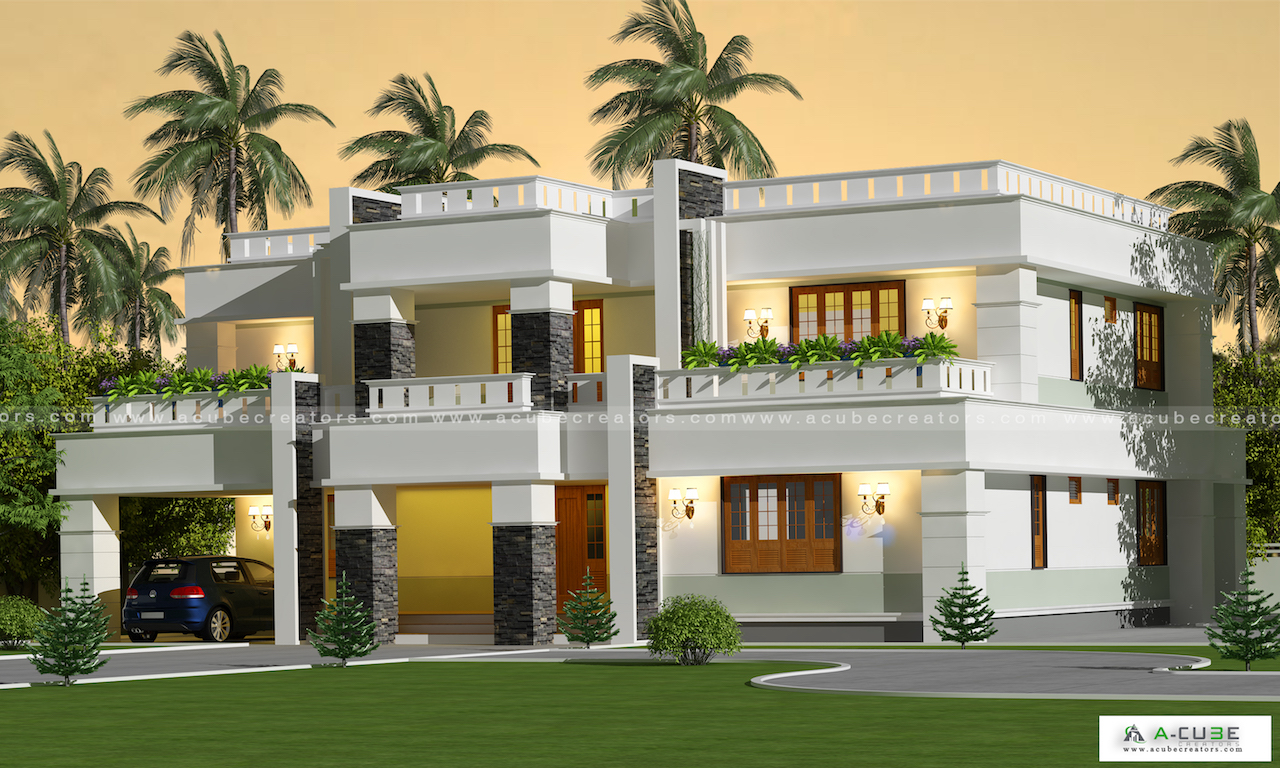 Luxury vacation home contemporary 5 Bedroom villa