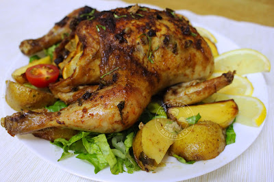 roasted chicken healthy garlic butter lemon chicken tasty simple party dinner ideas christmas eve dinner recipes