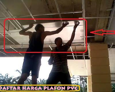 Cara Pemasangan Plafon Pvc
