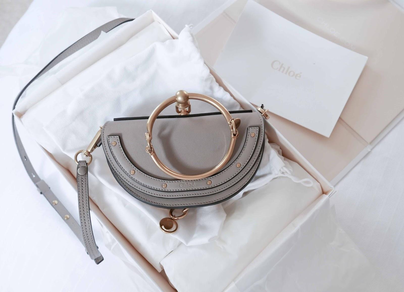 168ad80c7cd9 Fashion Blog  CHLOE NILE BRACELET BAG