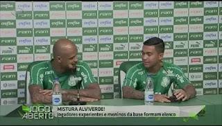 Felipe Melo e Dudu elogiam trabalho de Luxemburgo no Palmeiras