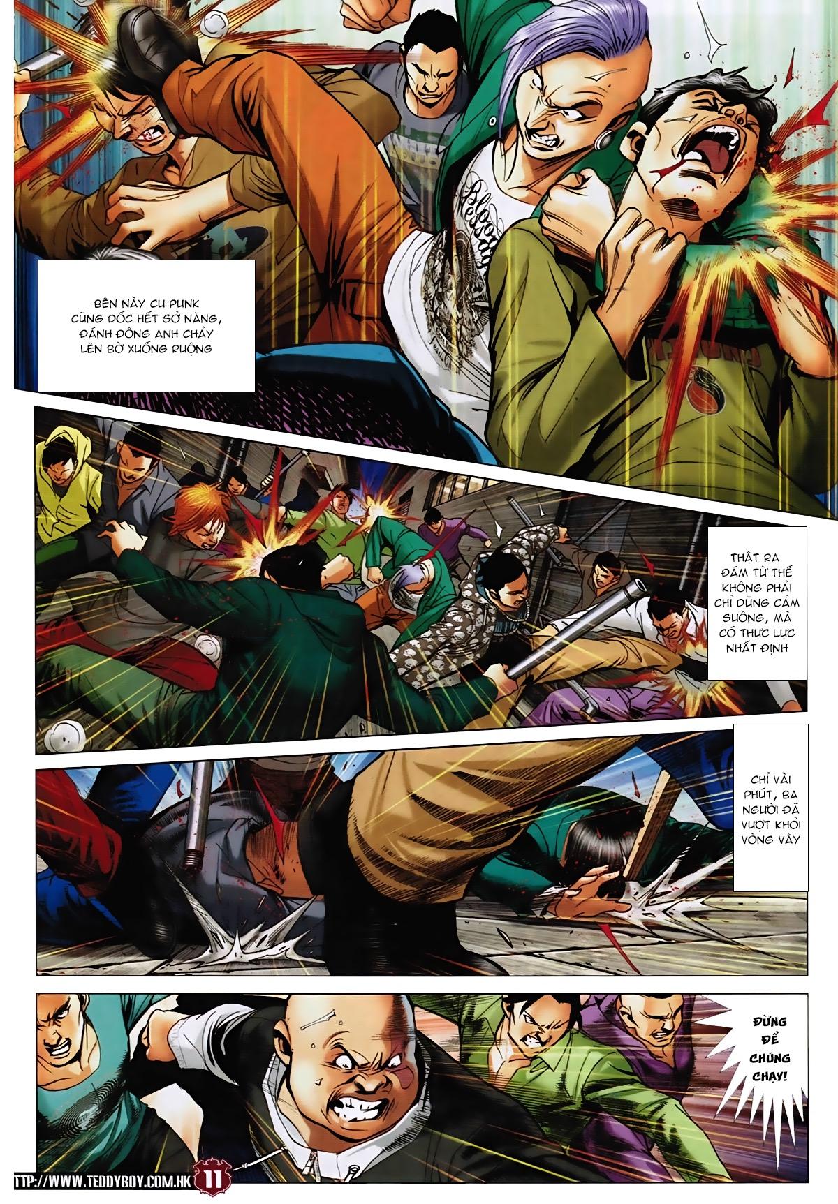 Người Trong Giang Hồ - Chapter 1568: Binh đoàn Hồng Phấn - Pic 9