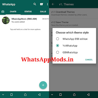 B58 WhatsApp v13 WhatsAppMods.in