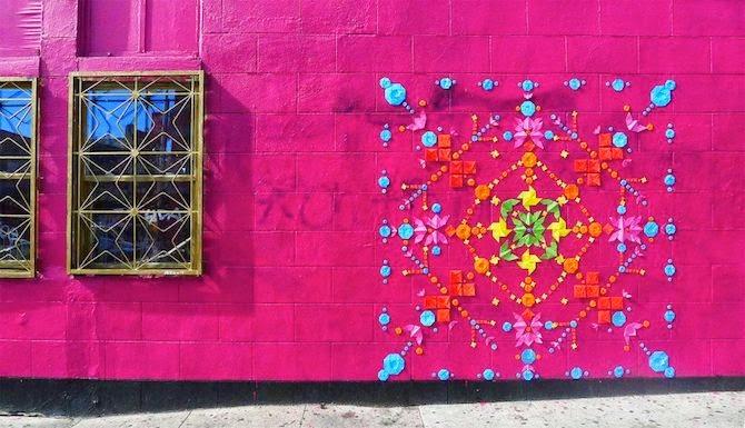 Artist Mademoiselle Maurice's Eye-Catching Origami Street Art