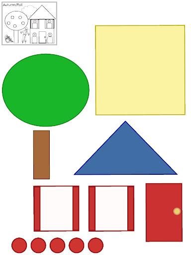 Revista Infantil Formas Geometricas Para Una Casa