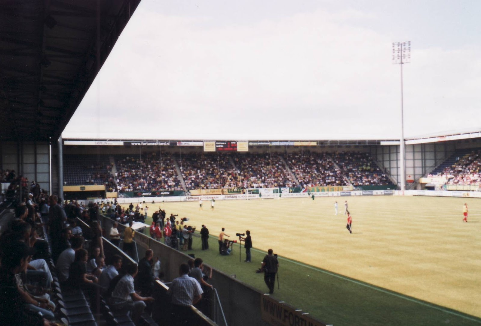 Extreme Football Tourism Netherlands Fortuna Sittard 1999