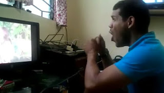 Jeff James' epic reaction while watching the fist date of the phenomenal love team.