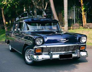Forsale Chevrolet Belair 1956 Full Restore,  Mesin V8