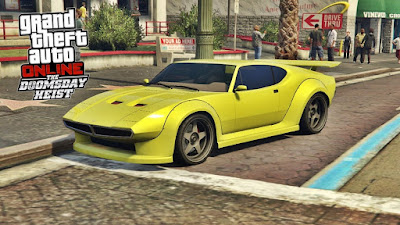 רכב חדש, מהמהירים במשחק, מגיע במחיר סביר מאוד אל GTA Online