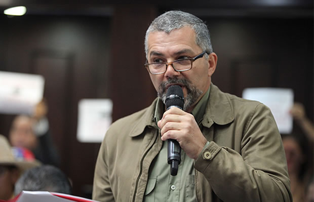 Ricardo Molina amenaza a pensionados si no votan el 30 de julio