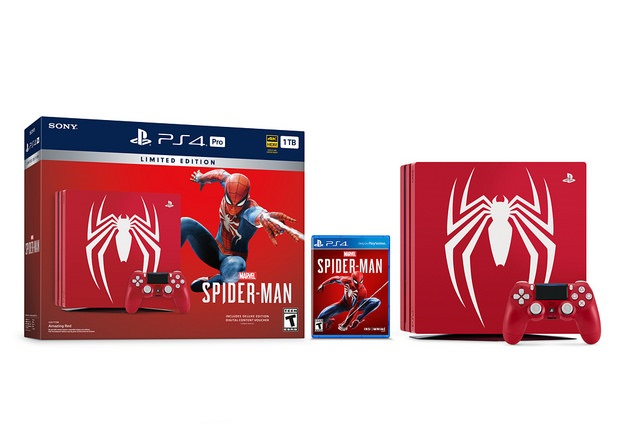 SONY debuts Limited Edition Marvel's Spider-Man PS4 Pro Bundle