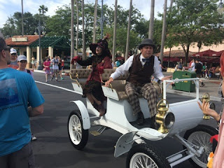 Disney World Citizens of Hollywood characters