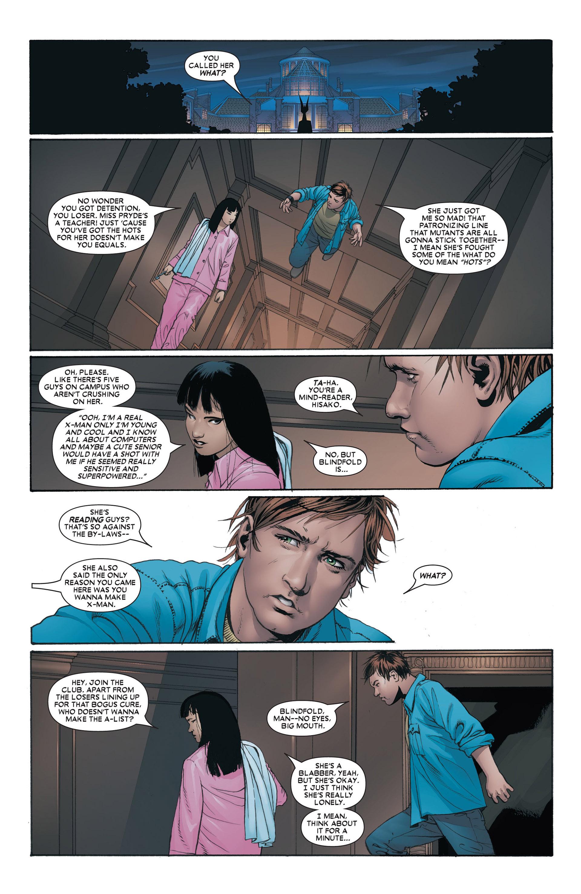 Read online Astonishing X-Men (2004) comic -  Issue #4 - 7