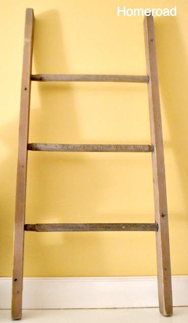 ladder for mantel