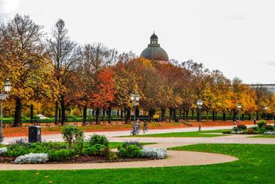 Parque Munich en otoño