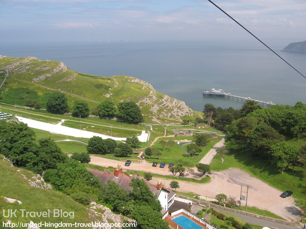 Llandudno - The Great Orme Cable Cars - The Globe Trotter