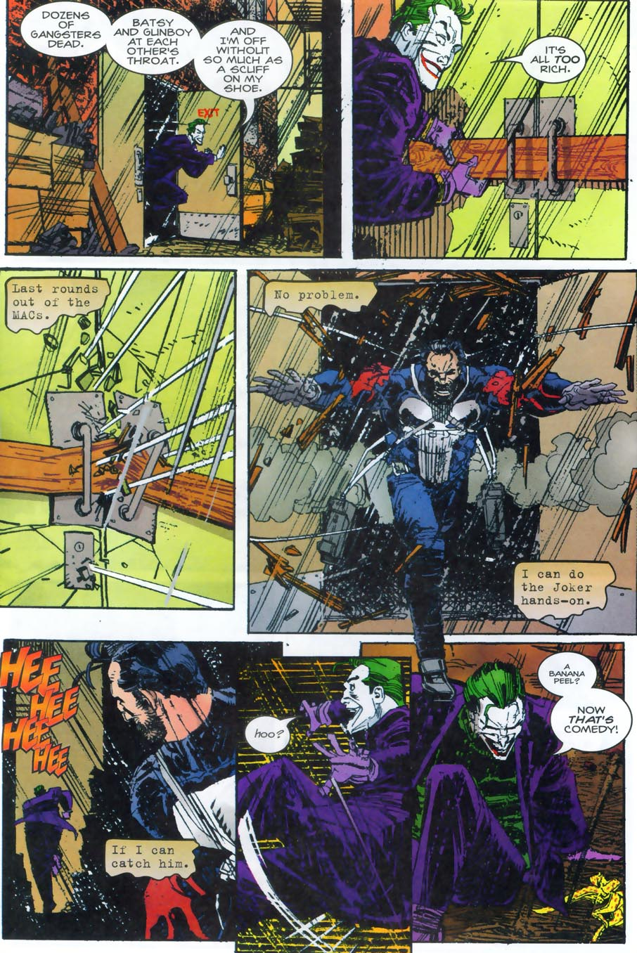 Read online Punisher/Batman: Deadly Knights comic -  Issue # Full - 40
