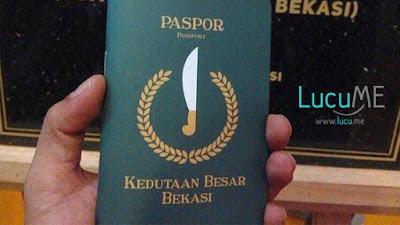 Sering Di-Bully, Bekasi Akhirnya Punya Paspor Dan Kedubes Sendiri