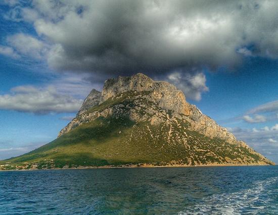 Vista sull'isola di Tavolara