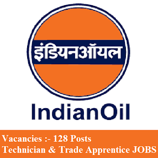 Indian Oil Corporation Limited, IOCL, Trade Apprentice, Technician Apprentice, Apprentice, Graduation, freejobalert, Sarkari Naukri, Latest Jobs, iocl logo