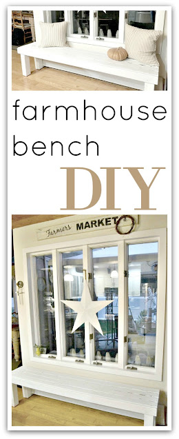 pinterest pin for bench
