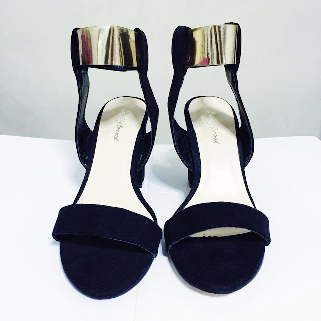 A pair of shoes from Something Borrowed