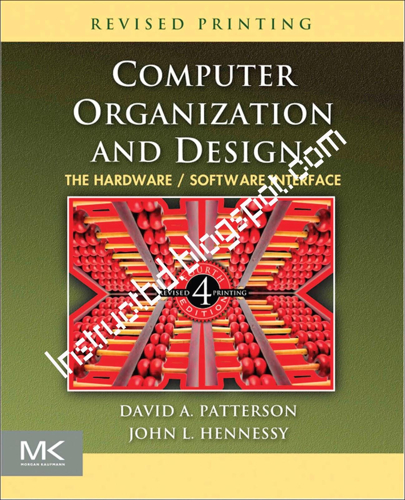 computer organization and design 4th edition