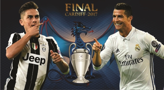Two giants collide for the ultimate crown when Juventus battle it out with holders, Real Madrid.