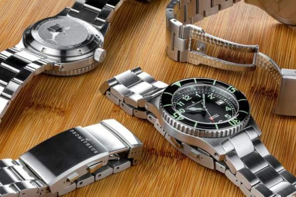 tali jam tangan dari metal - stainless steel
