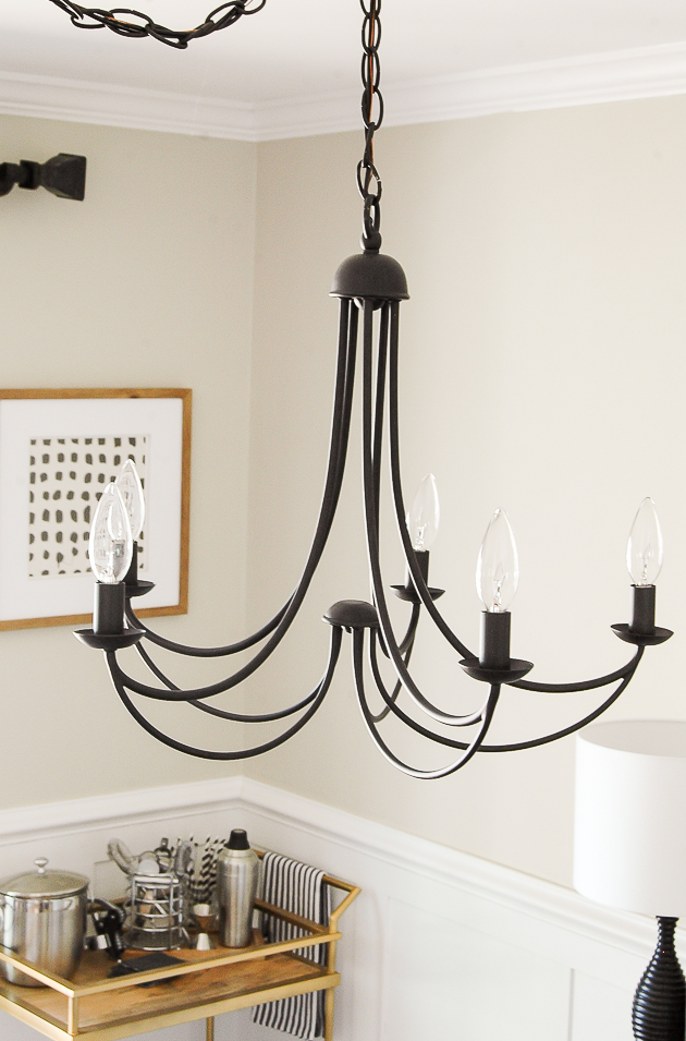 Classic Modern Farmhouse Dining Room Light | Little House ...