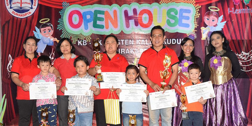 Berbalut Drama Musikal, Open House 2018 - The Sound of Glory Meriah