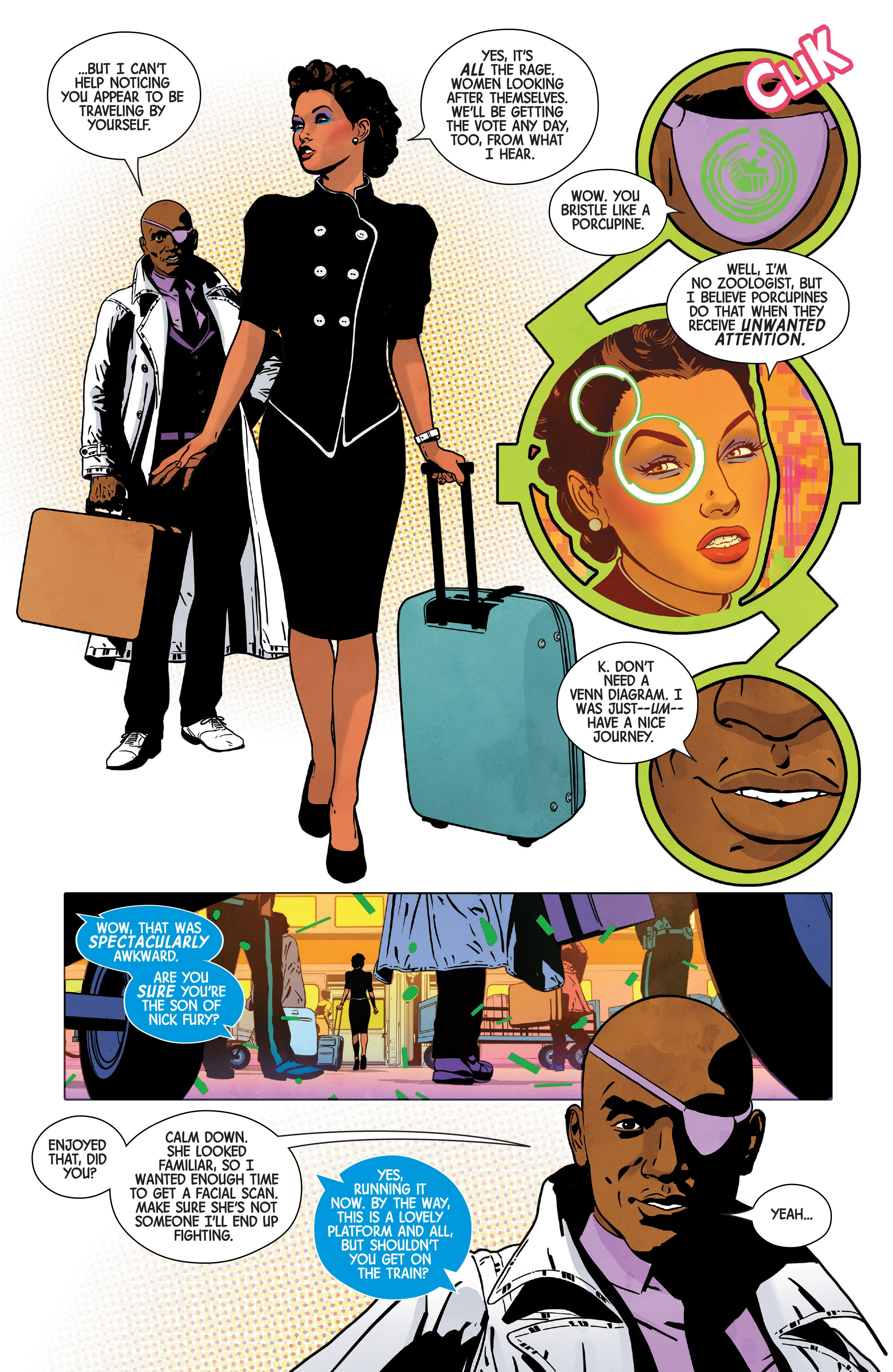 Read online Nick Fury comic -  Issue #3 - 5