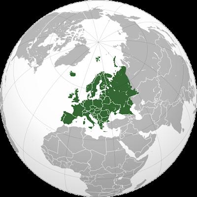 Benua Eropa di Dunia