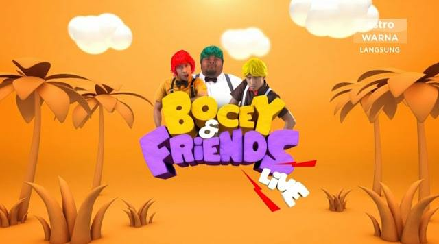 Bocey And Friends Live 2018 Minggu 6