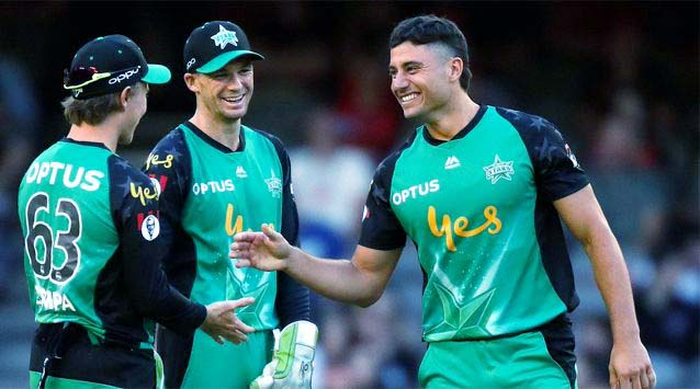 BBL: All-around Marcus Stoinis hands Melbourne Stars much-needed win