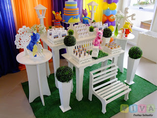 Decoração festa infantil Backyardigans