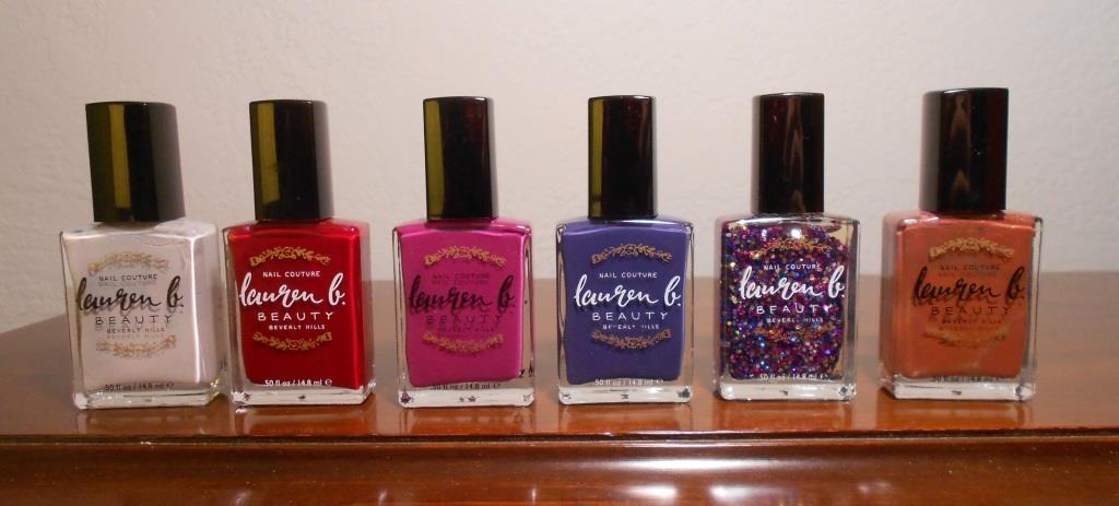 Lauren B. Beauty Nail Polishes for Dazzling Holiday Nail Glamour Without Toxic Chemicals