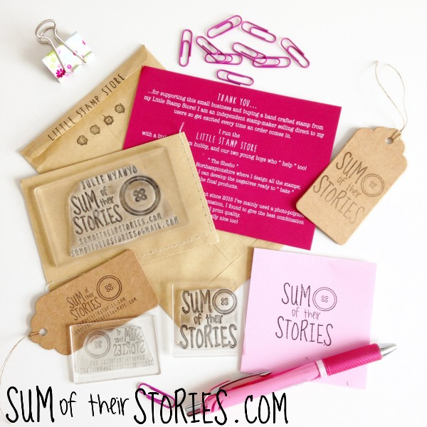 custom made clear stamps