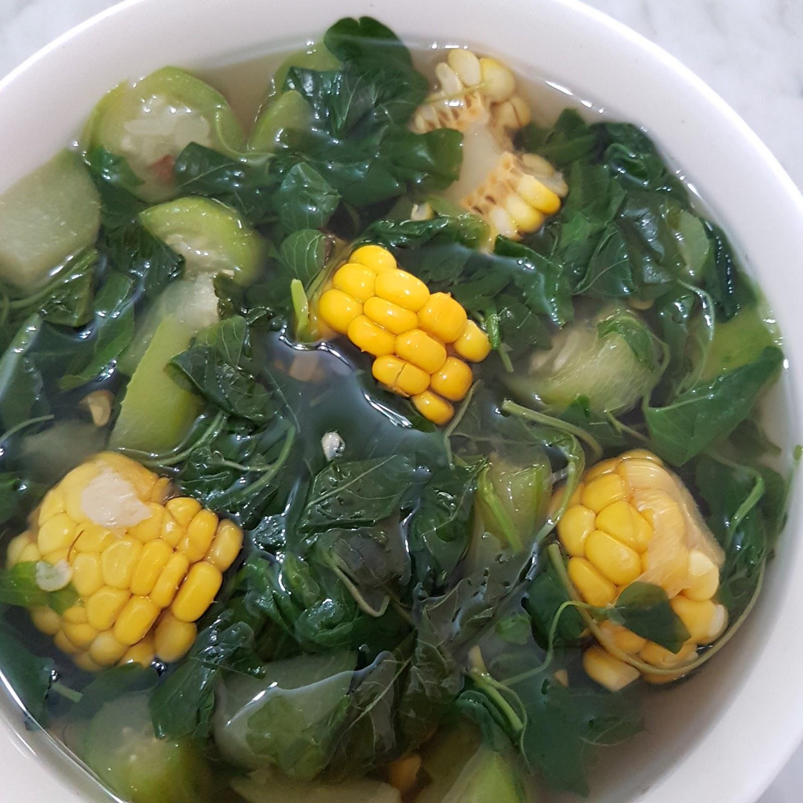 Jangan Kunci Spinach Sweet Corn Soup Recipes