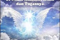 10 Nama Malaikat Dan Tugasnya Yang Wajib Diketahui