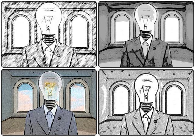 PencilPixels, scripts, Photoshop, Elements, Storyboard