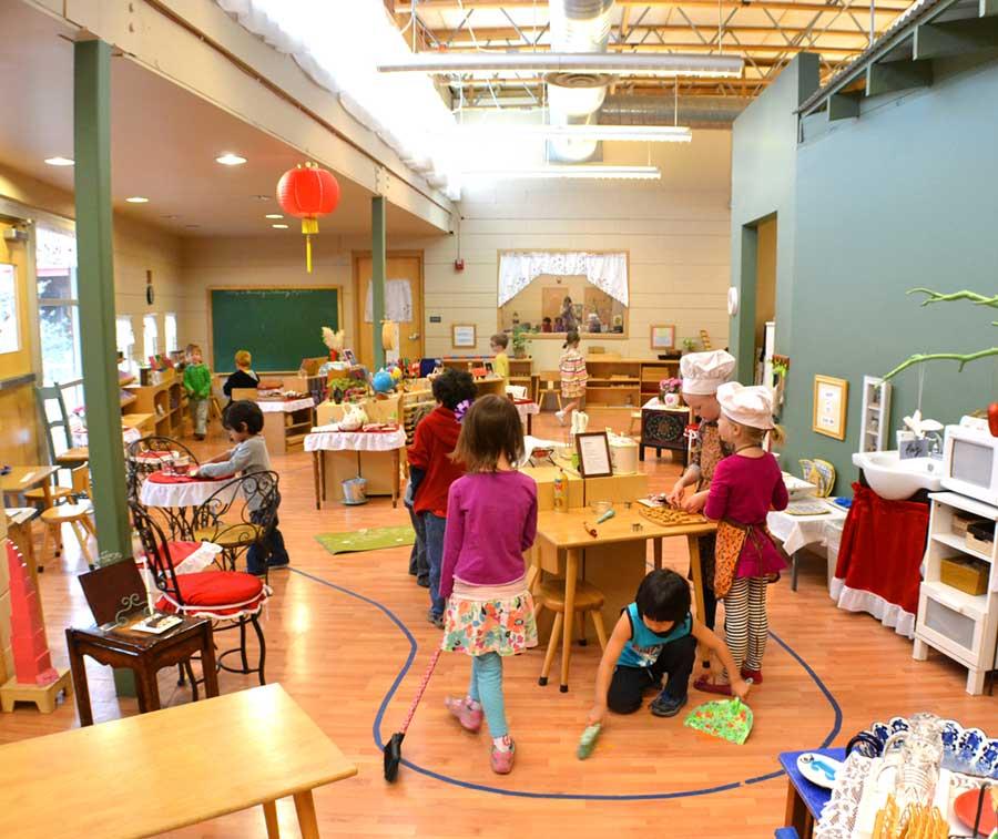 Classroom Decoration Ideas For Montessori ~ Montessori is not preparation for school but life