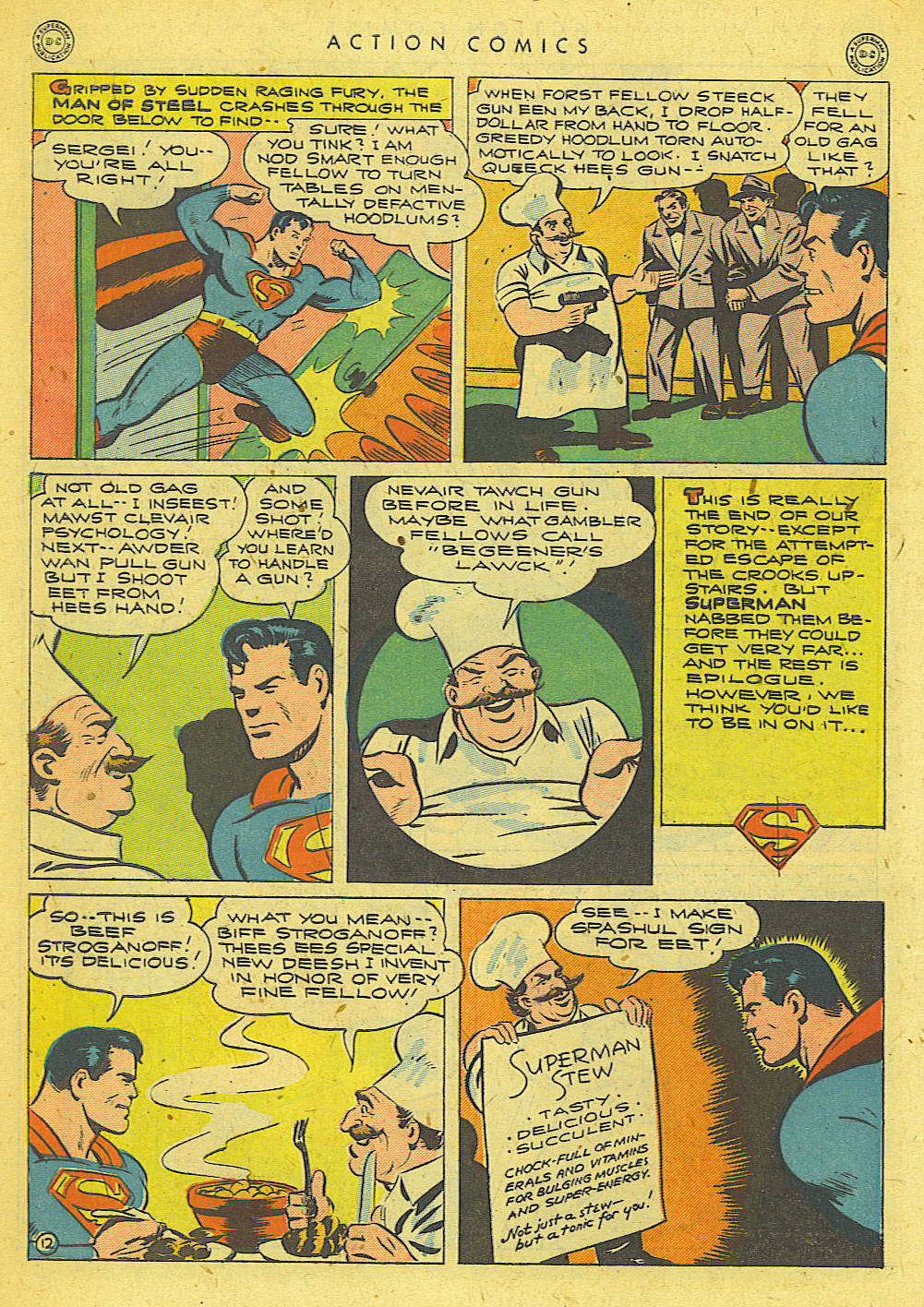 Read online Action Comics (1938) comic -  Issue #78 - 13