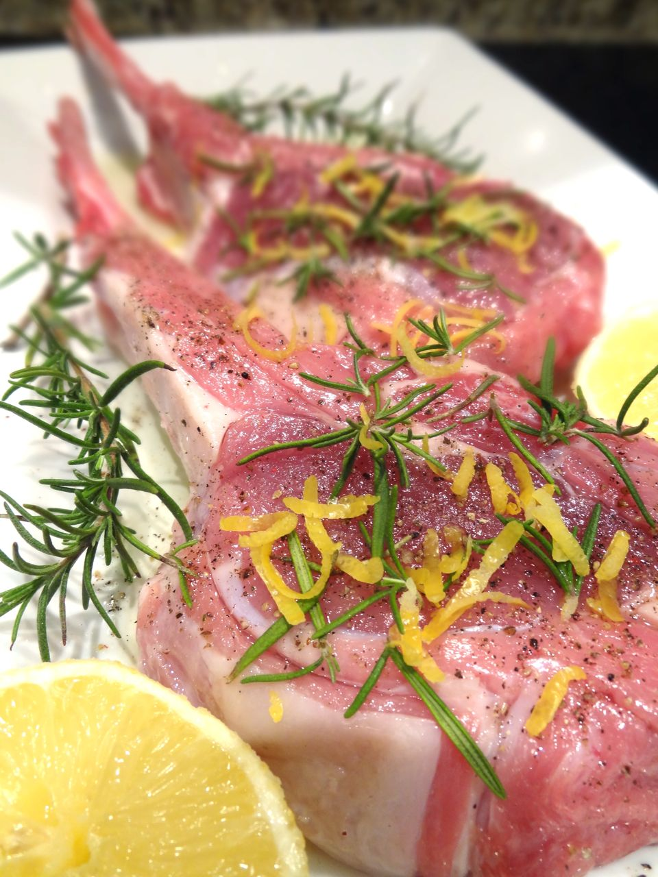 Scrumpdillyicious Grilled Tuscan Style Veal Chops With Lemon Gremolata