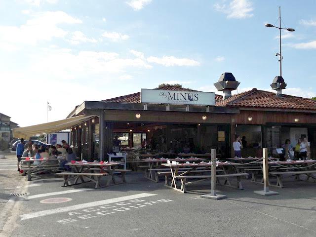 Restaurant chez Minus Capbreton bonne adresse les landes Aquitaine moules à la plancha
