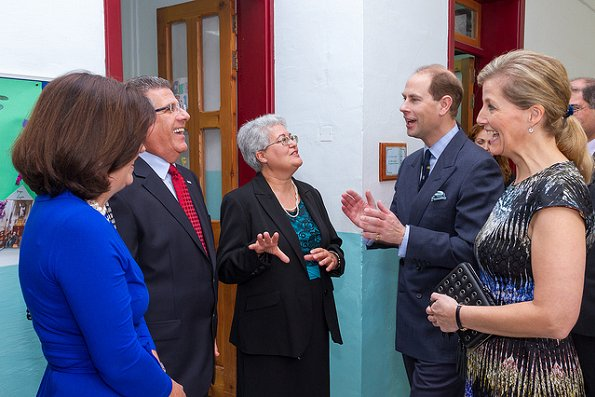 Prince Edward and the Countess of Wessex visited the British High Commission