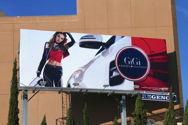 GiGi Tommy Hilfiger Spring 2018 billboard