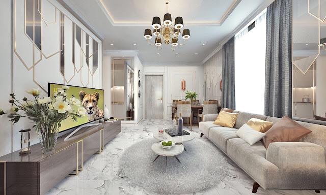Hình ảnh nội thất của căn hộ dự án D' El Dorado Phú Thượng