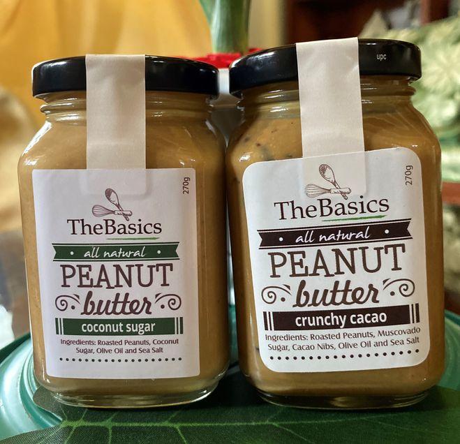 TheBasics peanut butter variants