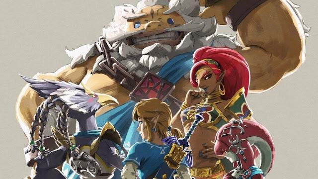التوسعة الثانية للعبة Zelda : Breath of the Wild ستقدم في نهاية عام 2017